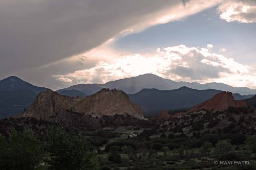Illumination at the Garden of Gods