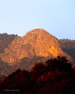 Moro Rock Sunset