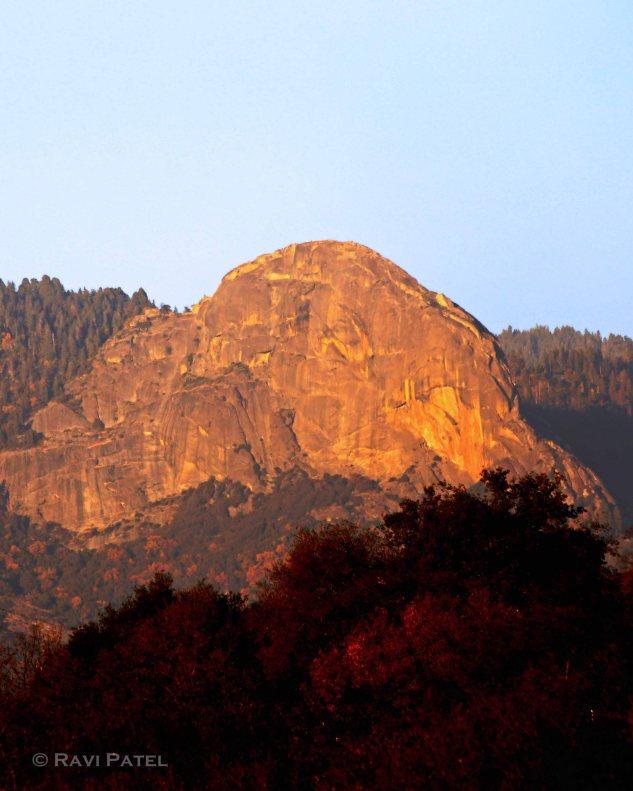 Moro Rock Sunset