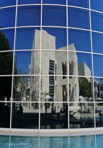 Getty Museum Reflections