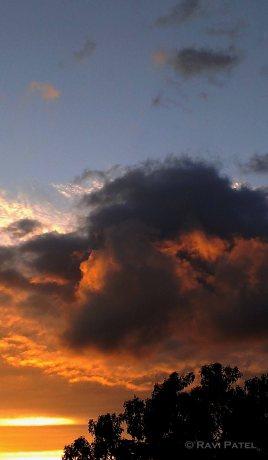 Sunset at Burbank