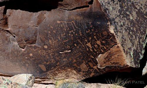 Arizona - Newspaper Rock Historical Images