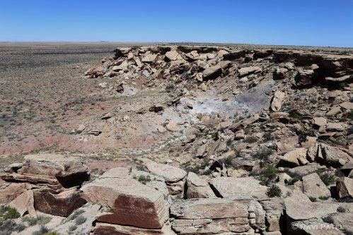 Arizona -  Newspaper Rock Vista