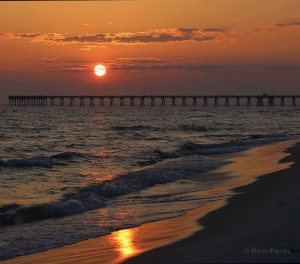 Florida - Panama City Beach - Brilliant Sunset