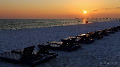 Florida - Panama City Beach - Day is Over