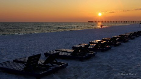 Florida - Panama City Beach - Day is Over