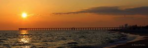 Florida - Panama City Beach - Sunset Panorama