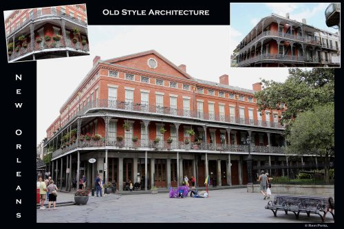 Louisiana - New Orleans Old Style Architecture
