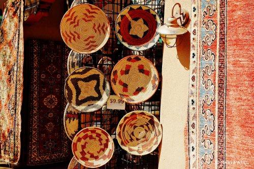New Mexico - Santa Fe - Colorful Handicrafts