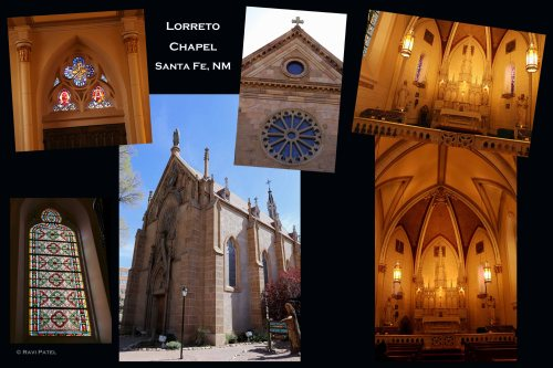 New Mexico - Santa Fe - Lorreto Chapel