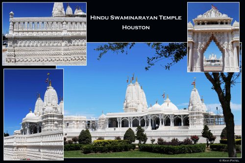 Texas - A Temple with Intricate Designs