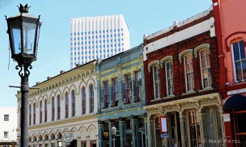 Texas - Galveston - The Old and the New