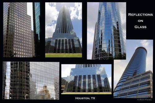 Texas - Houston - Reflections on Glass