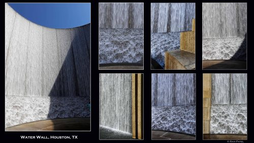 Texas - Houston - Water Wall