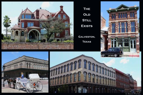 Texas - The Old Exists in Galveston