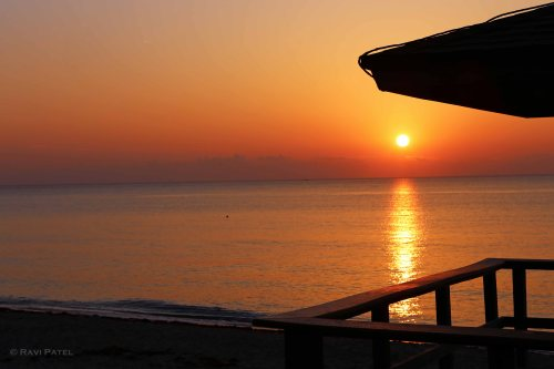 Florida - Delray Beach - Sunrise from Lifeguard Post