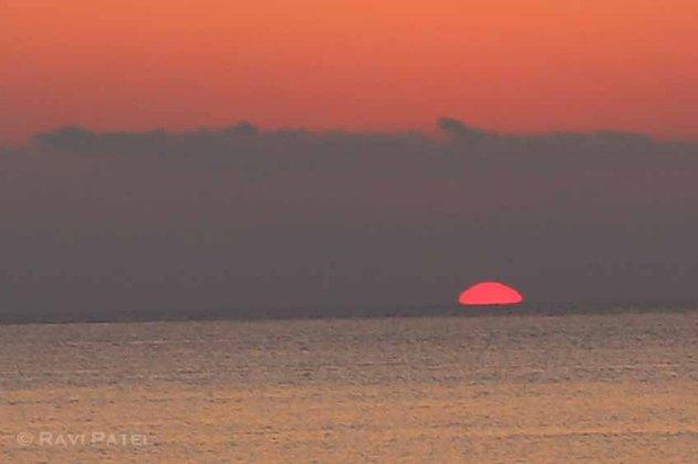 An Orange Glow on the Horizon