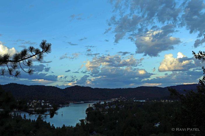 Morning at Lake Arrowhead