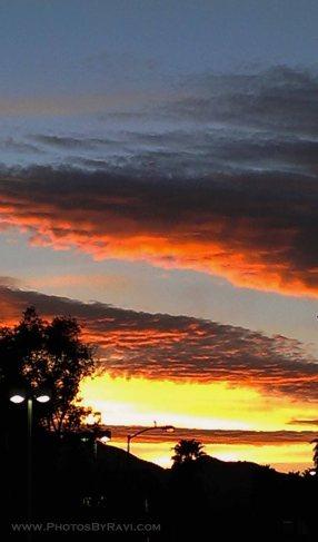 Sunset Skies over Stevenson Ranch
