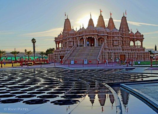 Temple Sunset Halo