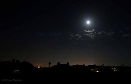 Full Moon Silhouette