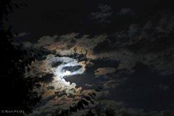 Moon Playing Hide and Seek