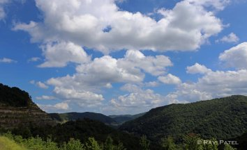 West Virginia Mountains and Clouds