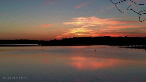 Fall Sunset Serenity