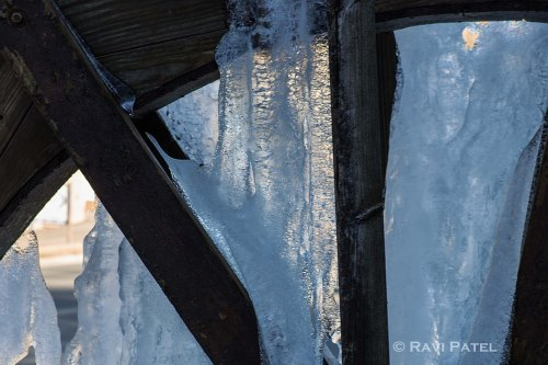 Ice on a Water Wheel