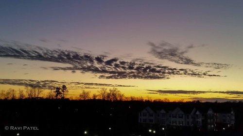 Sunset over Charlottte