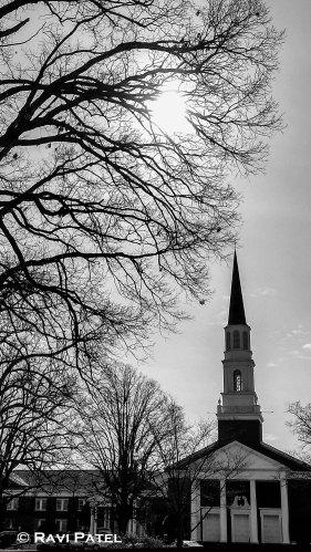 A Church Silhouette