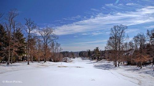 Snowy Fairways