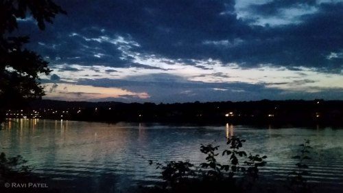 Blue Hour at Tennessee River