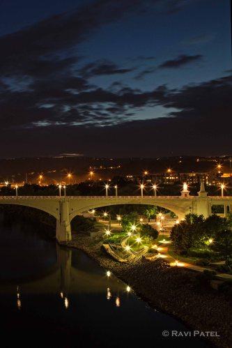 Night Lights at the Bridge