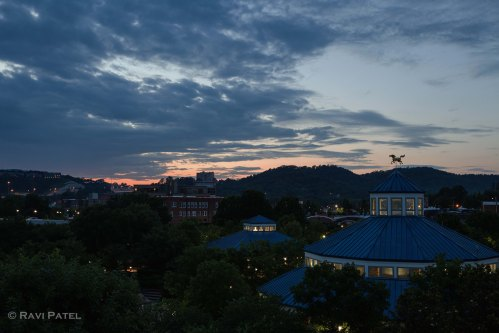 Post Sunset at Chattanooga's Anitique Carousel