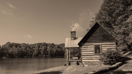 A Chapel of Peace by the Lake