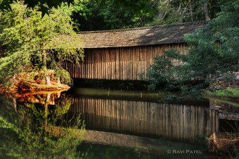 Covered Bridge Reflections