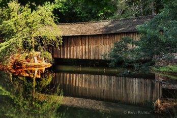 Covered Bridge Reflections