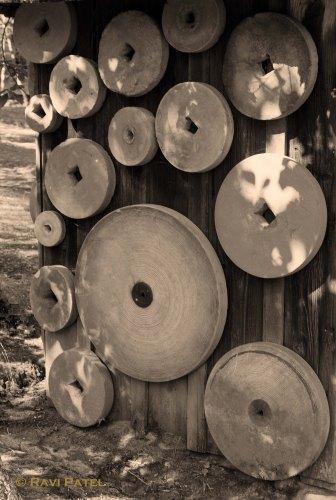 Old Grinding Wheels