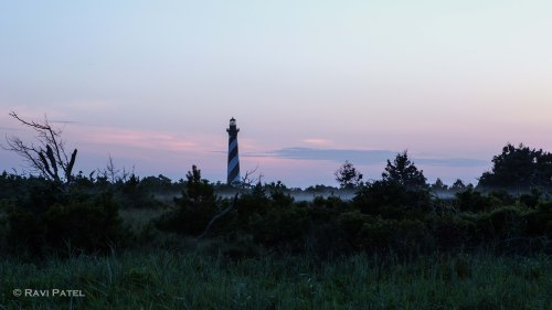 A Low Layer of Morning Fog at Cape Hatteras Lighthouse