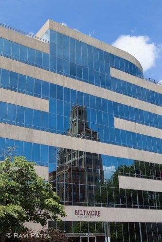Asheville Buiding Reflections