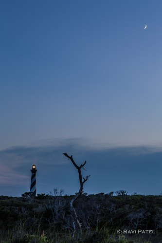 Blue Hour at Cape Hatteras Lighthouse