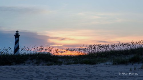 Cape Hatteras Lighthouse Sunset
