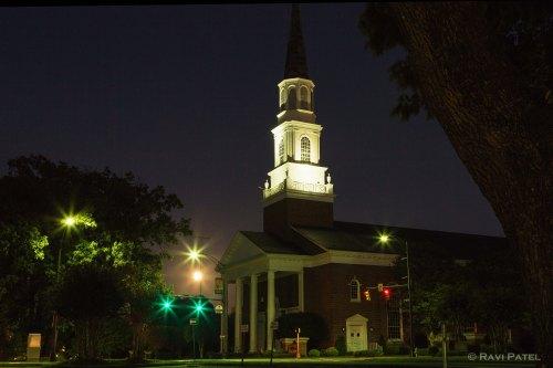 Moon Rising at the Church