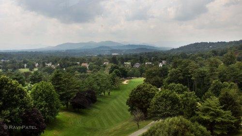 Pisgah Mountain Range from Grove Park Inn