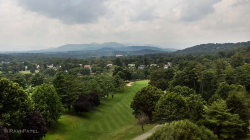 Pisgah Mountain Range from Grove Park Inn