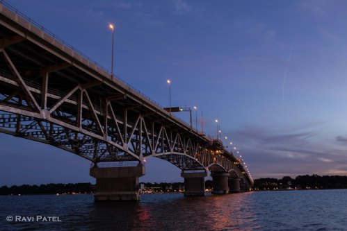 A Bridge at Blue Hour
