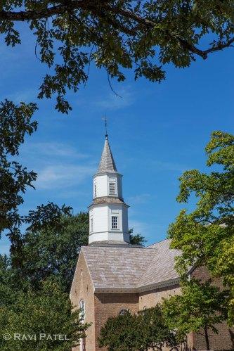 Bruton Parish Church Colonial Williamsburg
