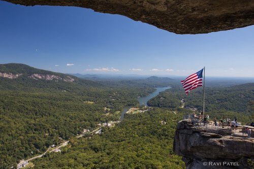 Chimney Rock Opera Box View
