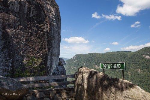 Devil's Head at Chimney Rock